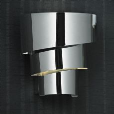 Endon 1 light wall bracket in chrome - EVERETT-1WBCH